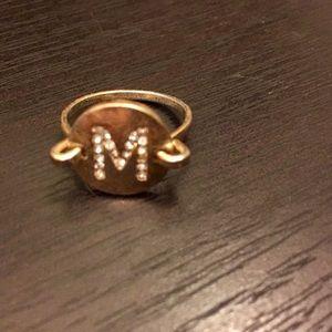 Jewelry - M ring.